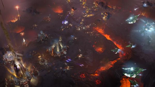 Скриншот №1 к Warhammer 40000 Dawn of War III
