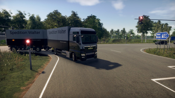 Скриншот №13 к On The Road - Truck Simulator
