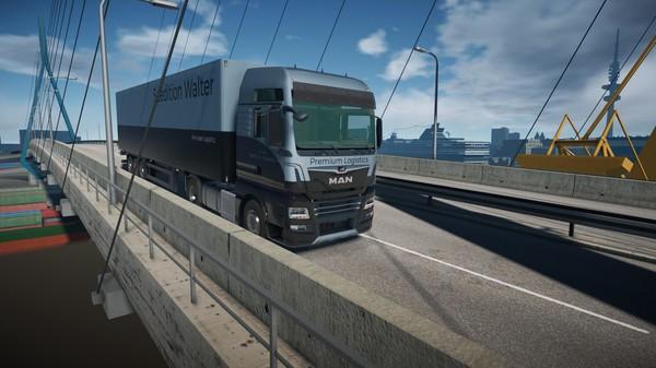 Скриншот №3 к On The Road - Truck Simulator