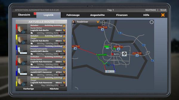 Скриншот №8 к On The Road - Truck Simulator