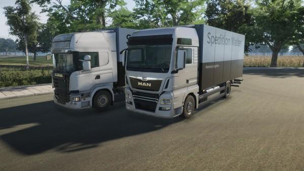 Скриншот №1 к On The Road - Truck Simulator