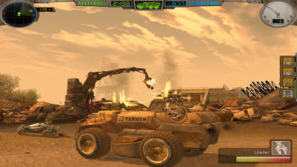 скриншот Hard Truck Apocalypse / Ex Machina 5