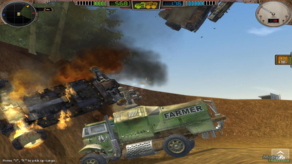 скриншот Hard Truck Apocalypse / Ex Machina 0