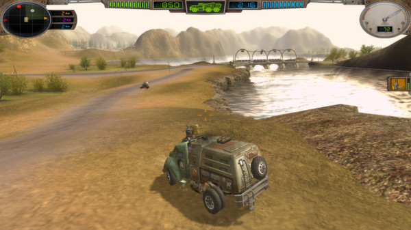 скриншот Hard Truck Apocalypse / Ex Machina 2
