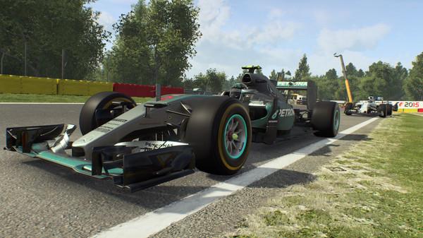 F1 2015 скриншот