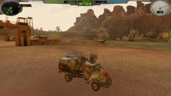 Скриншот №1 к Hard Truck Apocalypse Rise Of Clans  Ex Machina Meridian 113