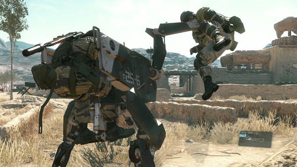 Metal Gear Solid V: The Phantom Pain (METAL GEAR SOLID 5: THE PHANTOM PAIN) скриншот