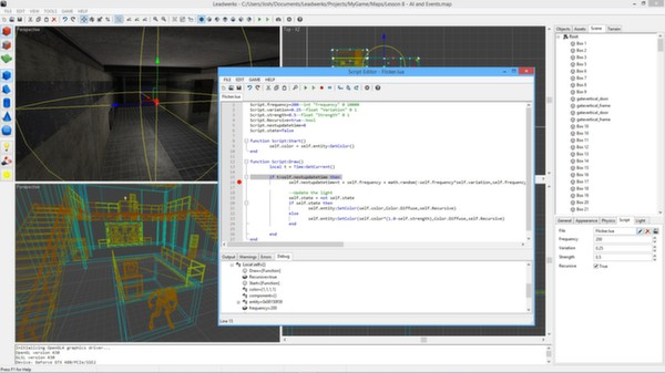 скриншот Leadwerks Game Engine: Standard Edition 3