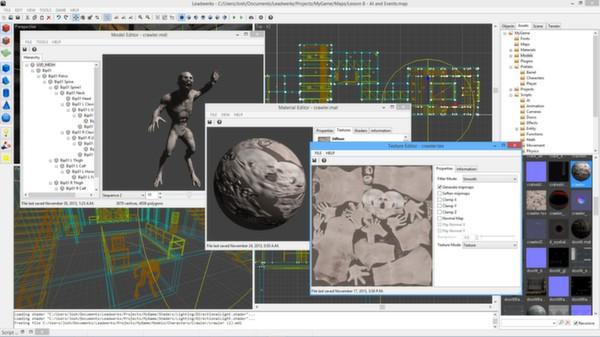скриншот Leadwerks Game Engine: Standard Edition 2