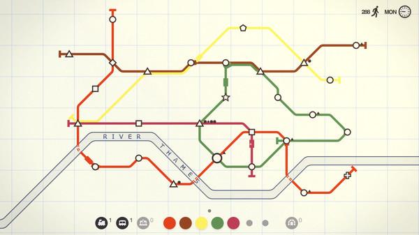 Скриншот №2 к Mini Metro