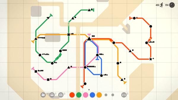 Скриншот №5 к Mini Metro