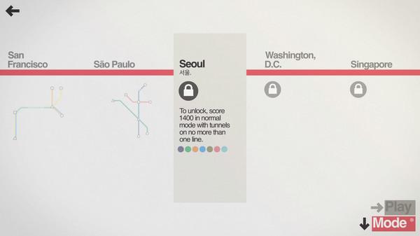 Скриншот №9 к Mini Metro