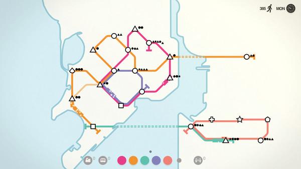 Скриншот №7 к Mini Metro