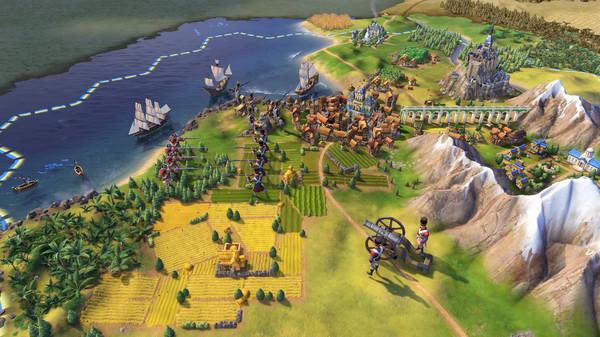 Sid Meier's Civilization VI (civ 6) скриншот