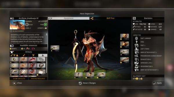 Endless Legend скриншот