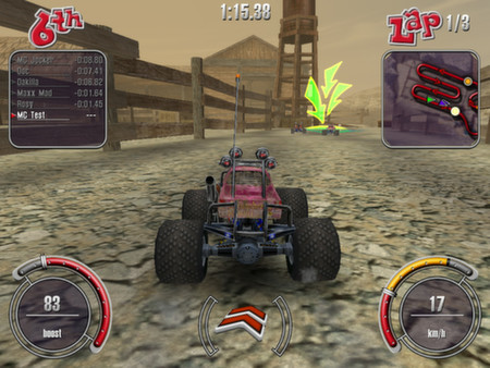 Скриншот №8 к RC Cars