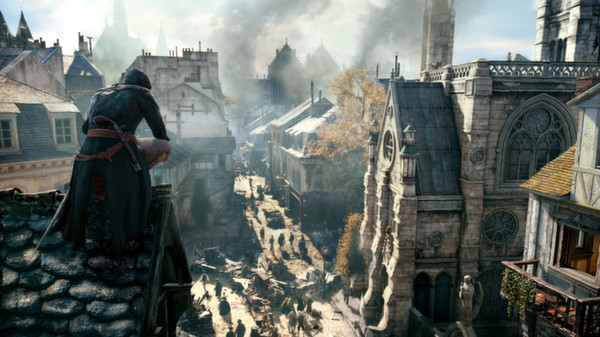 Assassin's Creed Unity скриншот