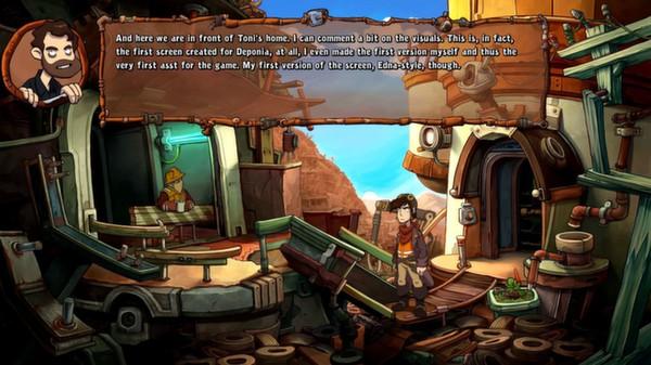 Скриншот №5 к Deponia The Complete Journey