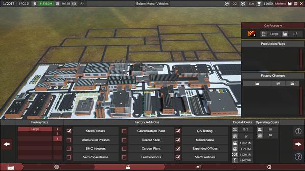 Скриншот №33 к Automation - The Car Company Tycoon Game