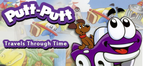 Putt-Putt® Travels Through Time Cover Image