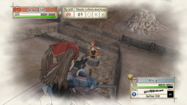 Valkyria Chronicles скриншот