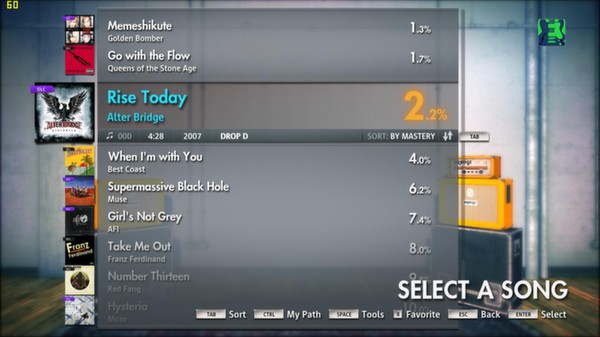"Скриншот №3 к Rocksmith® 2014 – Alter Bridge - ""Rise Today"""