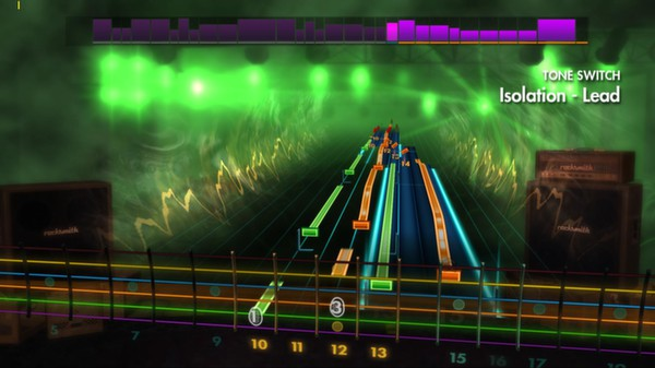 "Скриншот №1 к Rocksmith® 2014 – Alter Bridge - ""Isolation"""