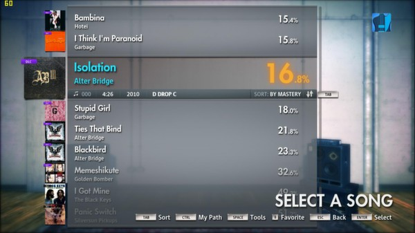 "Скриншот №3 к Rocksmith® 2014 – Alter Bridge - ""Isolation"""