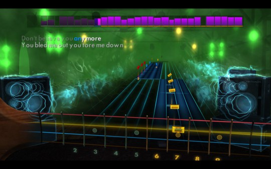 """Скриншот №1 к Rocksmith® 2014 – Slash featuring Myles Kennedy and The Conspirators - """"Youre a Lie"""""""