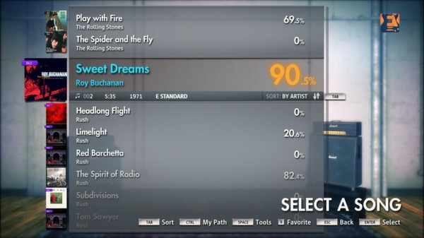 "Скриншот №2 к Rocksmith® 2014 – Roy Buchanan - ""Sweet Dreams"""