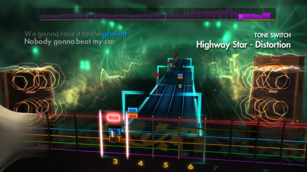 "Скриншот №5 к Rocksmith® 2014 – Deep Purple - ""Highway Star"""