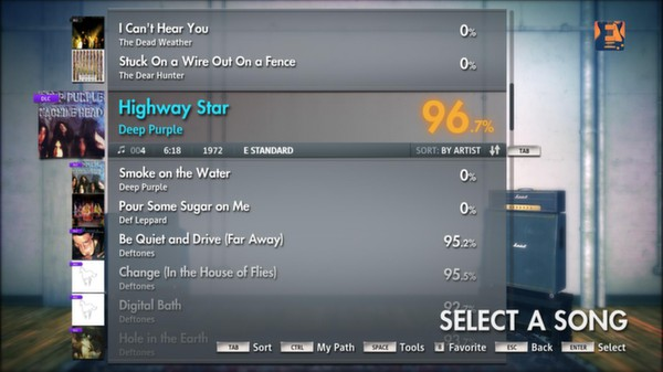 "Скриншот №2 к Rocksmith® 2014 – Deep Purple - ""Highway Star"""