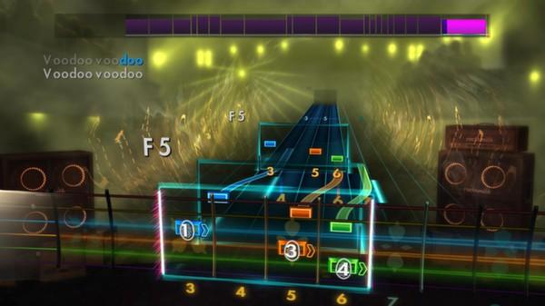 """Скриншот №4 к Rocksmith® 2014 – Godsmack - """"Voodoo"""""""