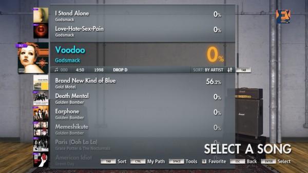 """Скриншот №1 к Rocksmith® 2014 – Godsmack - """"Voodoo"""""""