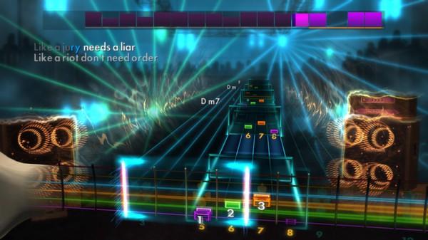"Скриншот №2 к Rocksmith® 2014 – Billy Talent - ""Red Flag"""