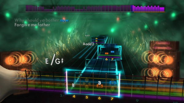 "Скриншот №2 к Rocksmith® 2014 – Billy Talent - ""Try Honesty"""