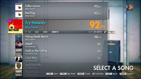 "Скриншот №1 к Rocksmith® 2014 – Billy Talent - ""Try Honesty"""