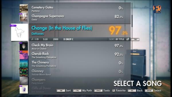 "Скриншот №4 к Rocksmith® 2014 – Deftones - ""Change In the House of Flies"""