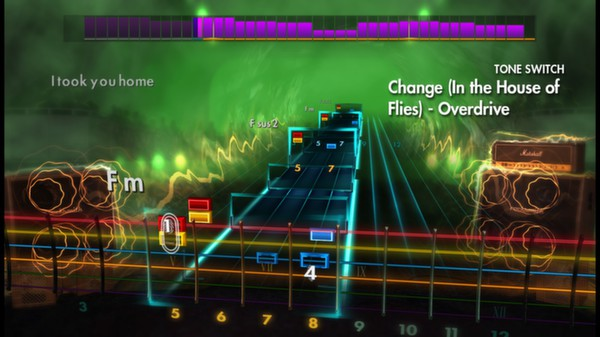 Скриншот №2 к Rocksmith® 2014 – Deftones Song Pack