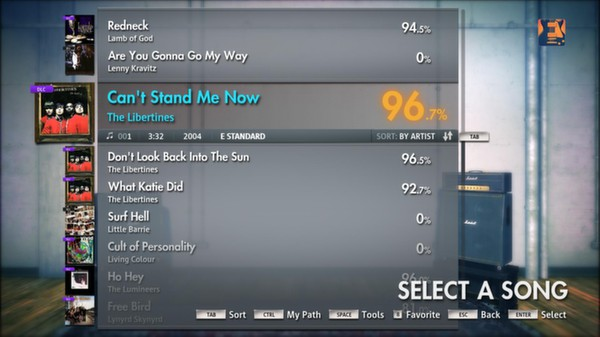 """Скриншот №5 к Rocksmith® 2014 – The Libertines - """"Cant Stand Me Now"""""""