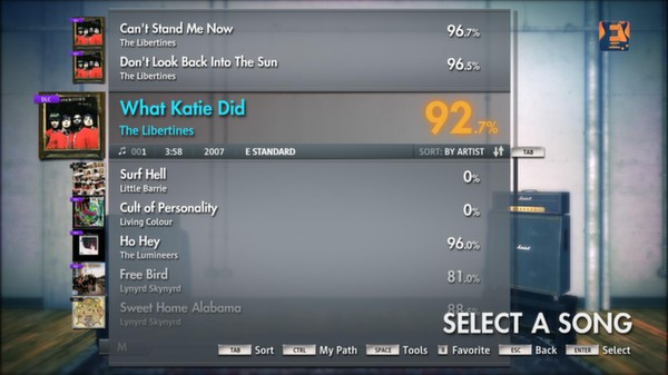 "Скриншот №5 к Rocksmith® 2014 – The Libertines - ""What Katie Did"""