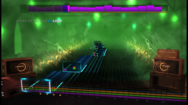 "Скриншот №5 к Rocksmith® 2014 – Rupert Holmes - ""Escape The Piña Colada Song"""