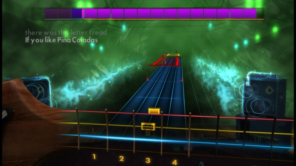 "Скриншот №3 к Rocksmith® 2014 – Rupert Holmes - ""Escape The Piña Colada Song"""
