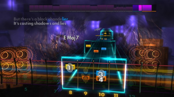 Скриншот №5 к Rocksmith® 2014 – Biffy Clyro Song Pack