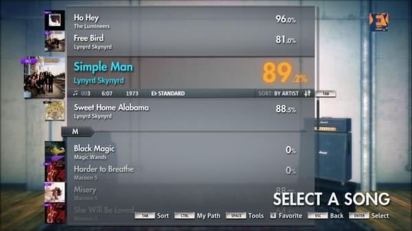 """Скриншот №1 к Rocksmith® 2014 – Lynyrd Skynyrd - """"Simple Man"""""""
