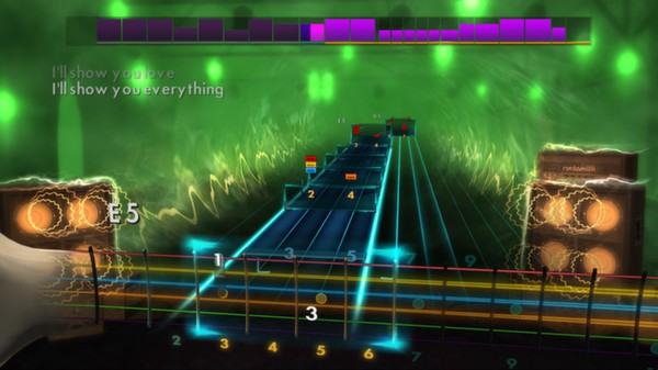 "Скриншот №1 к Rocksmith® 2014 – Creed - ""With Arms Wide Open"""