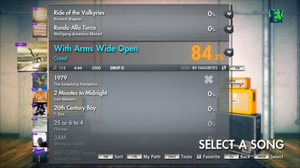 "Скриншот №4 к Rocksmith® 2014 – Creed - ""With Arms Wide Open"""