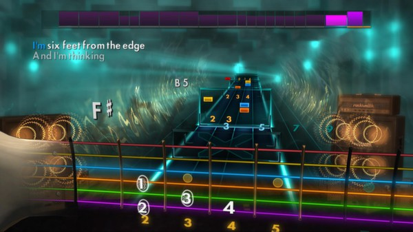 "Скриншот №2 к Rocksmith® 2014 – Creed - ""One Last Breath"""