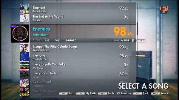 "Скриншот №5 к Rocksmith® 2014 – Shinedown - ""Enemies"""