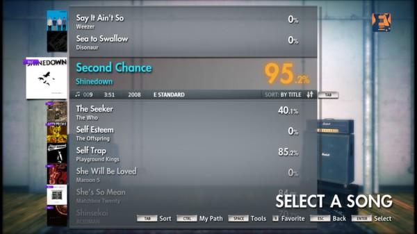 "Скриншот №1 к Rocksmith® 2014 – Shinedown - ""Second Chance"""